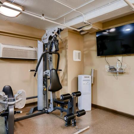 Cutting Edge Fitness Center | Portland Oregon Apartments | Park Plaza