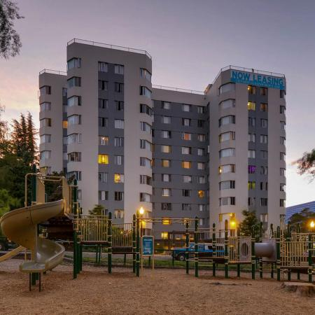 Community Children's Playground | Portland Oregon Apartments for Rent | Park Plaza