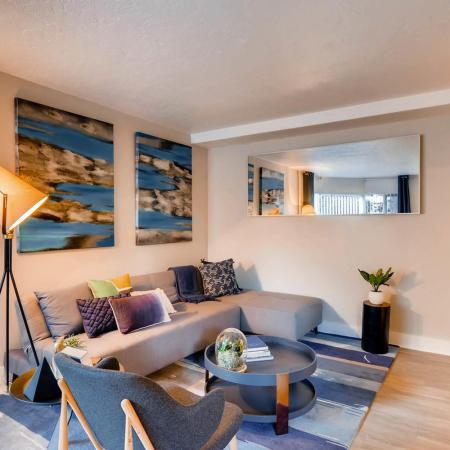 Spacious Living Area | Portland Oregon Apartments | Park Plaza