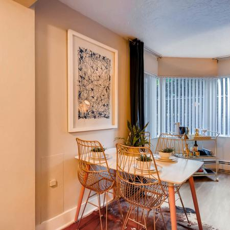 Spacious Dining Room | Apartments in Portland | Park Plaza