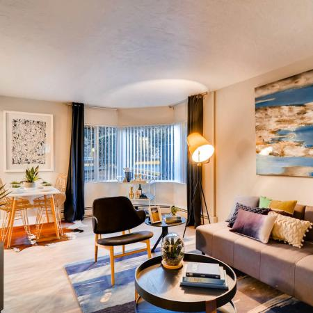 Elegant Living Room | Portland Apartments | Park Plaza