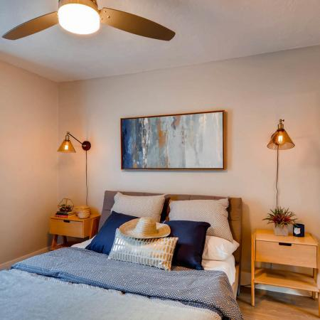 Spacious Bedroom | Portland Oregon Apartments | Park Plaza