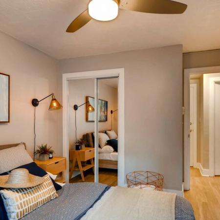 Elegant Bedroom | Apartment Homes In Portland | Park Plaza