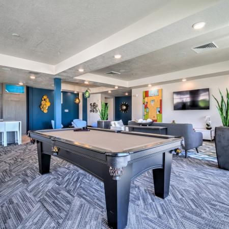 Resident Game Room | Apartments In West Jordan | Novi at Jordan Valley Station