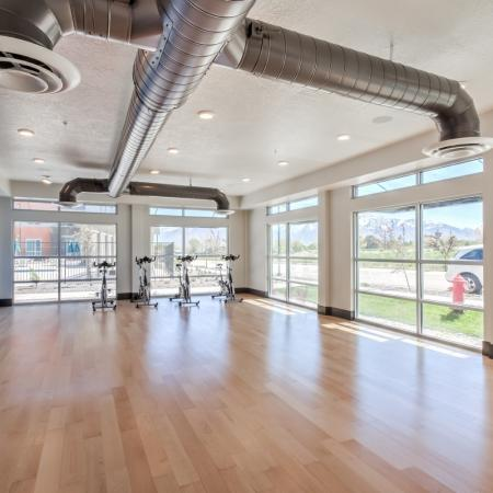 Cutting Edge Fitness Center | Apartments For Rent West Jordan Utah | Novi at Jordan Valley Station