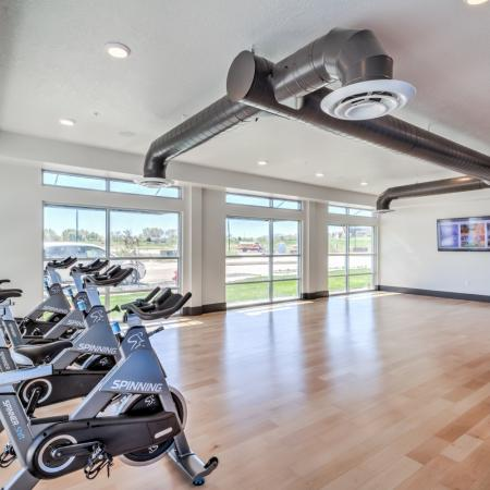 Community Fitness Center | Apartments In West Jordan | Novi at Jordan Valley Station