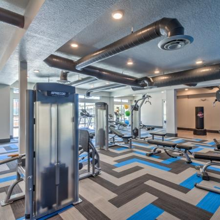 On-site Fitness Center | Apartments West Jordan | Novi at Jordan Valley Station
