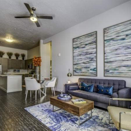 Spacious Dining Room | Apartments In West Jordan | Novi at Jordan Valley Station