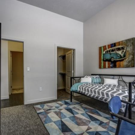Spacious Living Room 1 | Apartments In West Jordan | Novi at Jordan Valley Station