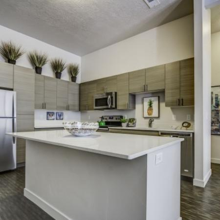 Modern Kitchen 1 | West Jordan UT Apartments | Novi at Jordan Valley Station