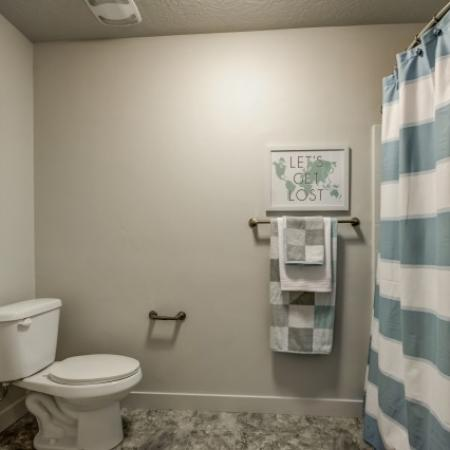 Luxurious Bathroom | Apartments West Jordan | Novi at Jordan Valley Station