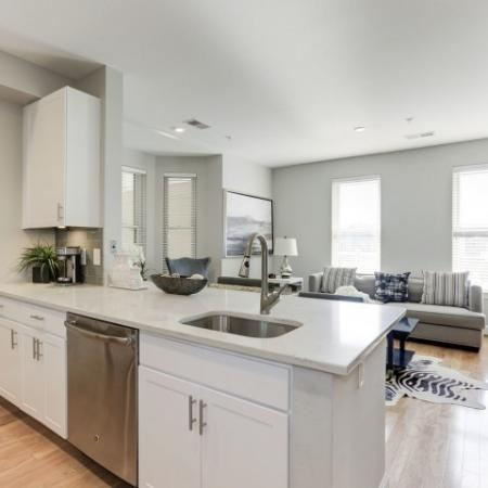 Spacious Kitchen | Apartments For Rent In Bethesda Maryland | Upstairs at Bethesda Row