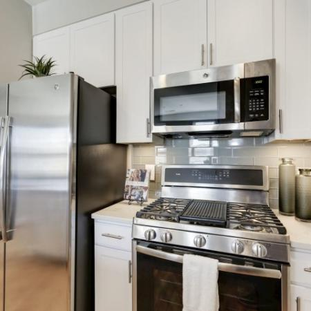 Modern Kitchen | Luxury Apartments In Bethesda | Upstairs at Bethesda Row