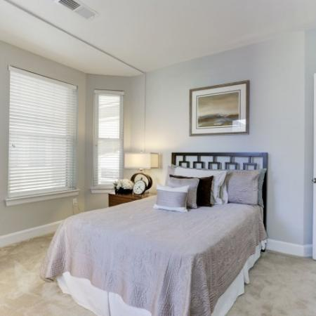 Spacious Bedroom | Bethesda Luxury Apartments | Upstairs at Bethesda Row