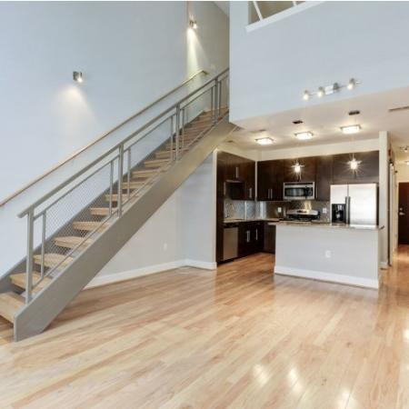 Spacious Hallway | Luxury Apartments In Bethesda Maryland | Upstairs at Bethesda Row