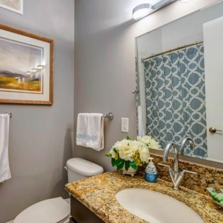 Luxurious Bathroom | Apartments For Rent In Bethesda Maryland | Upstairs at Bethesda Row