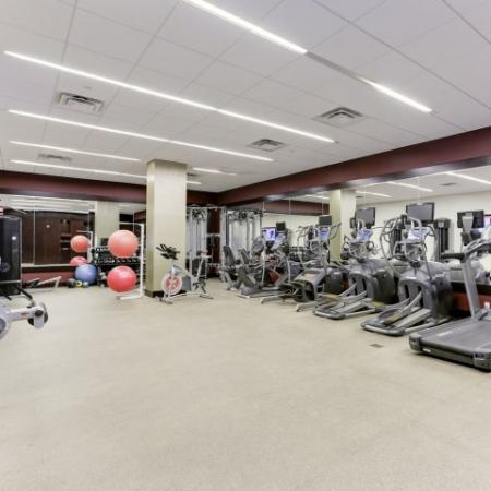 State-of-the-Art Fitness Center | Luxury Apartments In Bethesda MD | Upstairs at Bethesda Row