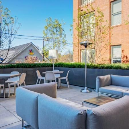 Resident Sun Deck | Luxury Apartments In Bethesda | Upstairs at Bethesda Row