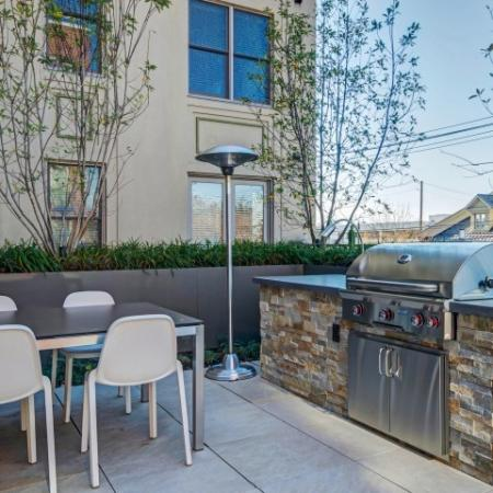 Resident BBQ | Luxury Apartments In Bethesda Maryland | Upstairs at Bethesda Row