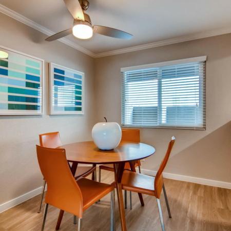 Elegant Dining Room | Apartment In Scottsdale | The Cortesian Apartments