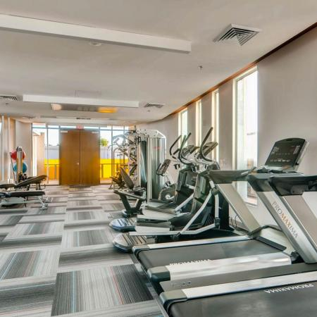 Resident Fitness Center | Scottsdale Apartment | The Cortesian Apartments