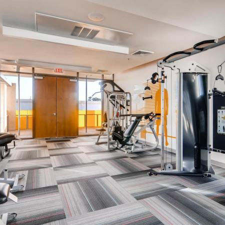 Cutting Edge Fitness Center | Scottsdale Apartments | The Cortesian Apartments