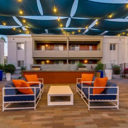Resident Sun Deck | Scottsdale Apartment | The Cortesian Apartments