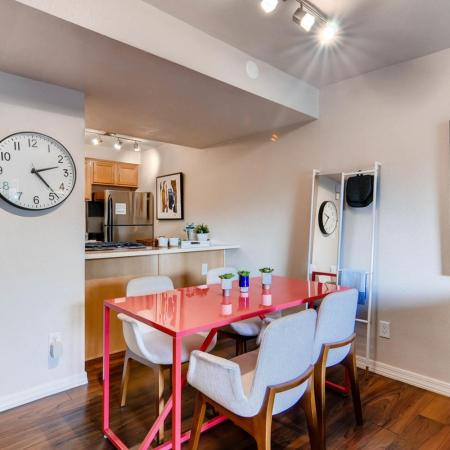 Scottsdale Gateway II Dining Area