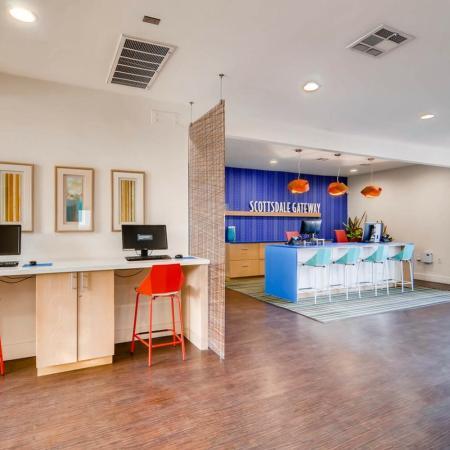 Cyber Cafe at Scottsdale Gateway II