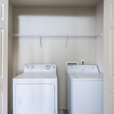 In-home Laundry| Salt Lake City Apartments | Park Vue