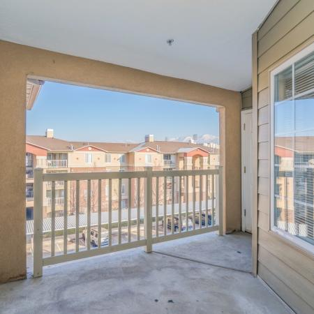 Resident Sun Deck | Apartment For Rent In Salt Lake City | Park Vue
