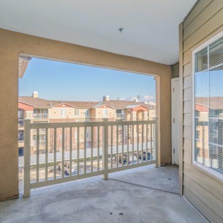 Resident Sun Deck | Apartment For Rent In Salt Lake City | Park Vue