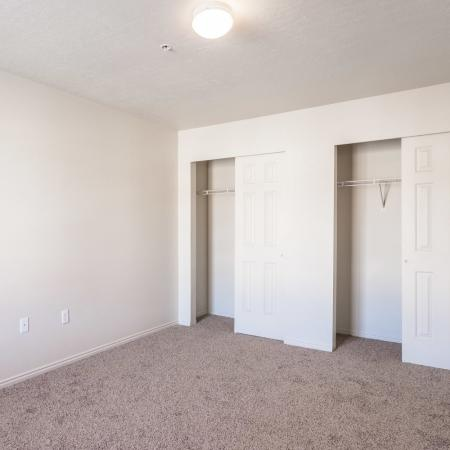 Spacious Master Bedroom   Salt Lake City Apartments   Park Vue