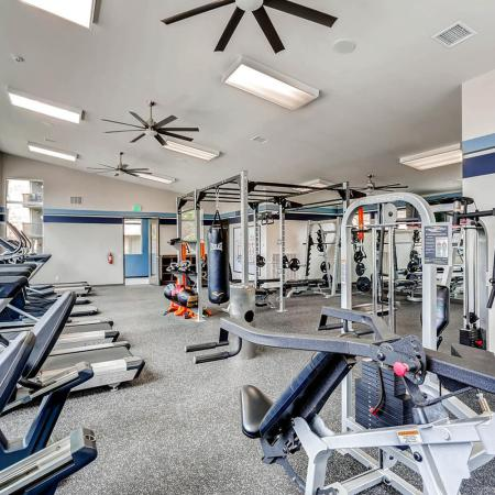 State-of-the-Art Fitness Center | Lakewood Apartments | Lakeview Towers At Belmar