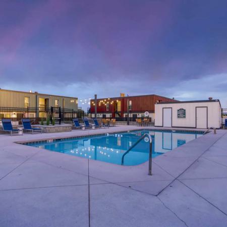 Sparkling Pool | Apartments For Rent In Herriman Utah | Copperwood Apartments