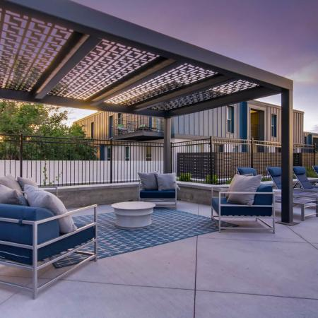 Lounging by the Pool | Apartments For Rent In Riverton Utah | Copperwood Apartments