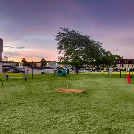 Community Bark Park | Apartments In Riverton | Copperwood Apartments