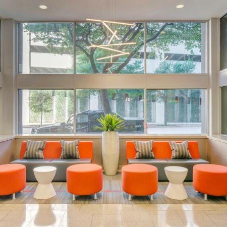 Spacious Community Club House | Houston Apartments | Houston House