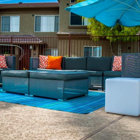 Resident Patio | Apartments For Rent In Ahwatukee AZ | Verano Townhomes