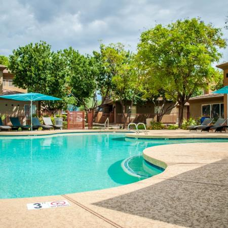 Resort Style Pool | Ahwatukee Foothills Apartments | Verano Townhomes
