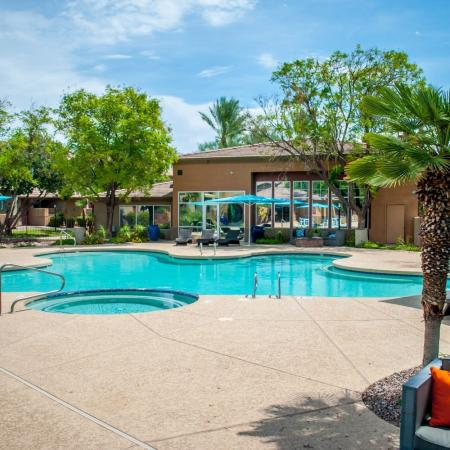 Sparkling Pool | Apartments In Ahwatukee Foothills | Verano Townhomes