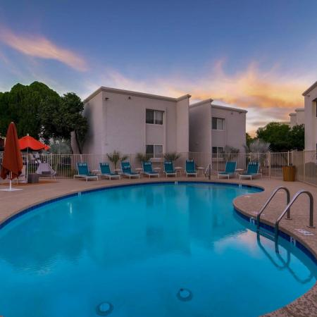 Sparkling Pool | Apartment In Scottsdale | The Cortesian Apartments
