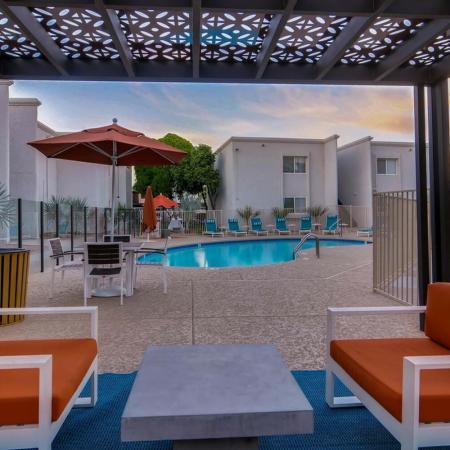Resort Style Pool | Scottsdale AZ Apartment | The Cortesian Apartments