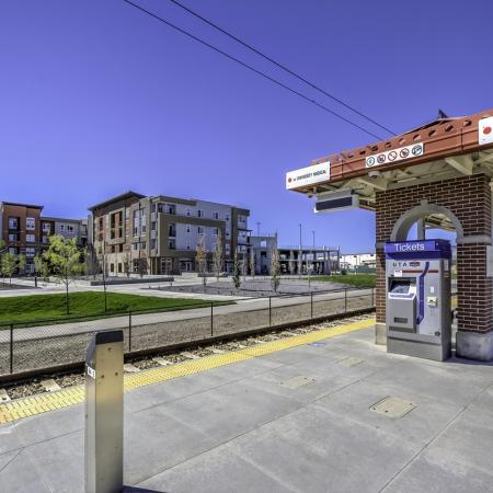 Near Public Transportation | West Jordan UT Apartments | Novi at Jordan Valley Station