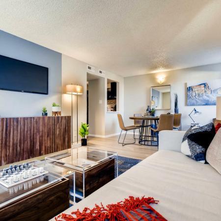 Elegant Living Area | Apartments Herriman Utah | Copperwood Apartments
