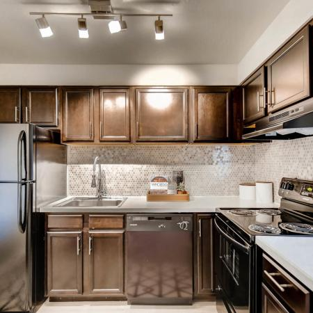 State-of-the-Art Kitchen | Farmgate Apartments Herriman | Copperwood Apartments