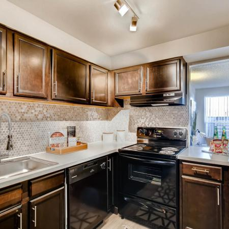 Modern Kitchen | Farmgate Apartments | Copperwood Apartments