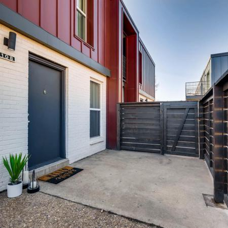 Spacious Porch Area | Timbergate Apartments Herriman | Copperwood Apartments