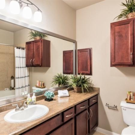 Luxurious Bathroom | Apartments Richmond TX | Deseo at Grand Mission