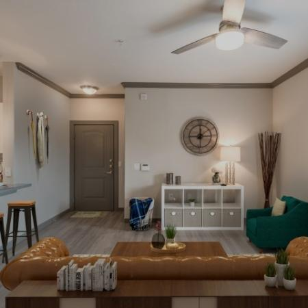 Spacious Living Room | Richmond Apartment Rentals | Deseo at Grand Mission